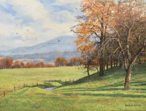 "Fall Afternoon | 12"" x 16"" | Barbara Conley"