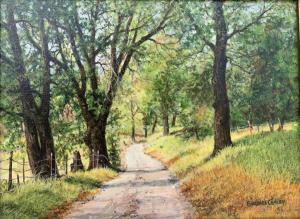 "Along Ratto Road Sonora | 9"" x 12"" 