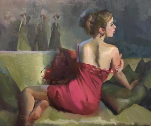 "Gorgeous | 20"" x 18"" | Nancy Crookston"