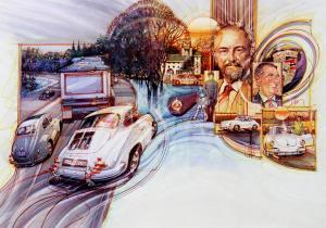 "Butzi's Car | 20""x25"" | Dennis Brown"