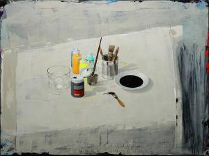 "Creative Ingredients | 38"" x 51"" | Toni Dura"