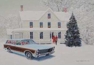 "Christmas Squire | 12""x17"" | Ken Eberts"
