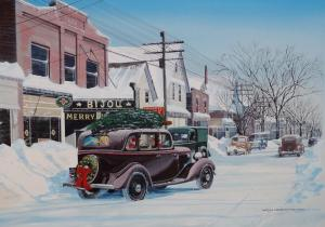 """She's Never Seen Snow, 'cept of Course at Christmas Time 