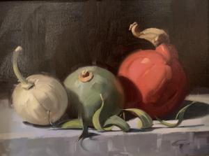 Gourds | 12″ x 16″ | Gerald Julien Griffin