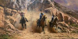Out of the Canyon   24″ x 48″   Robert Hagan