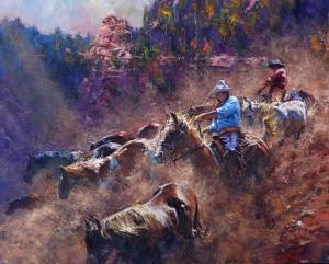 The Downward Slope | 24″ x 30″ #4 | Robert Hagan