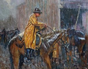 Time for Shelter | 24″ x 30″ #5 | Robert Hagan