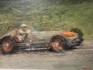 "Bill Vukovich at Indy | 18""x24"" | Peter Hearsey"