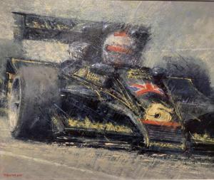 "Mario Andretti-Lotus 78 | 20""x24"" | Peter Hearsey"