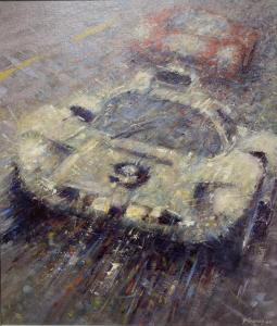 "Chaparral at Le Mans | 22"" x 18"" 