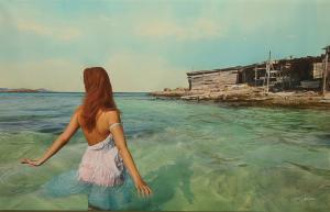 "Calm Day | 25"" x 39"" 