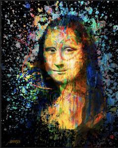 """Fusion Renaissance Mona Lisa   50"""" x 40""""   Johansen"""