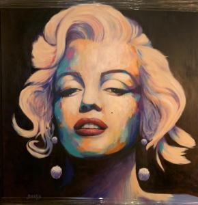 Marilyn | 60″ x 60″ | Jay Johansen