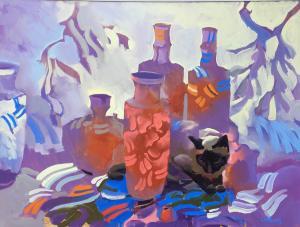 "Hidden in Plain Sight | 30"" x 40"" | Keith Lindberg"