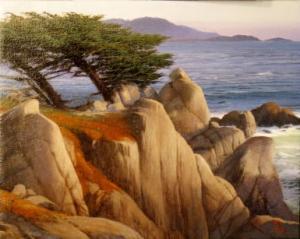 "Pescadero Point | 8"" x 10"" | Dean Linsky"