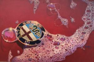 "Alfa Bubbles | 24""x36"" | William Motta"