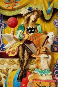 Fair Tale Circus Girl   70″ x 34″   Vladimir Muhin