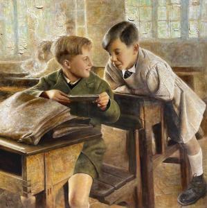 Harmonica | 38″ x 38″ | Vladimir Muhin