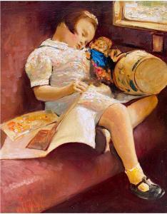 Sweet Dreams | 12″ x 10″ | Vladimir Muhin