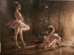 Ballerina Dreams   18″ x 24″   Stephen Pan