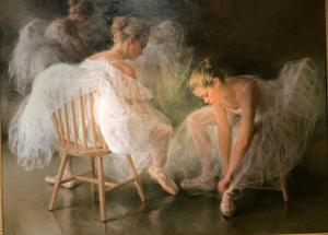 "Backstage Harmony | 36"" x 48"" 