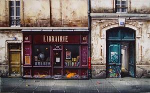 "Librairie No 61 | 11"" x 18"" | Thomas Pradzynski"