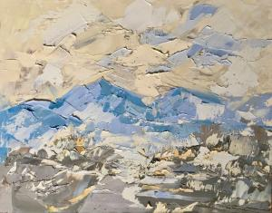 "Blue Mountains   8"" x 10""   Sandra Pratt"