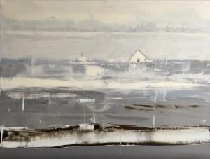 "Gentle Dissolve | 18"" x 24"" | Sandra Pratt"