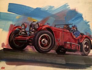 "Mercedes | 10""x14"" | Stanley Rose"