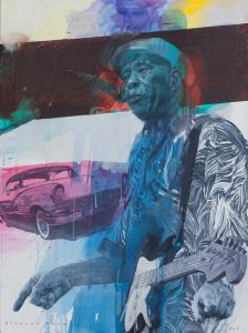 "Buddy Guy | 52"" x 38"" 