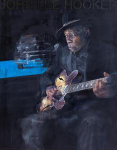 "John Lee Hooker | 57"" x 45"" 