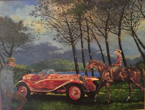 "Alfa Sunlight | 28"" x 36"" 