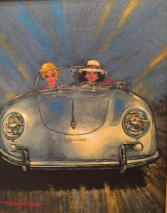 "Fast Ladies Porsche 356 | 10"" x 8"" 