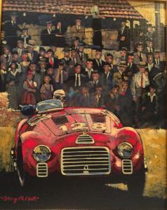 "First Car to Wear Ferrari Badge 1947 | 10""x8"" | Barry Rowe"