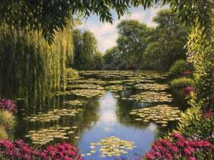 "Monet 39's Lily Pads | 12"" x 16"" 
