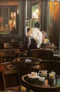 Thalia Stratton | End of the Evening | 30x20 | Oil