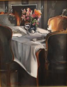 "Stratton Salon Boisserie | 20"" x 16"" | Thalia Stratton"