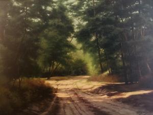 Edward Szmyd|The Road to Whiskey Creek | 30 x 40| Oil