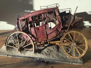 "Desert Prey | 15"" x 25"" x 18"" | Thomas Tankersley"