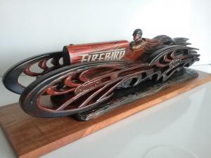 "Firebird | 9""x28""x8"" | Tony Sikorski"