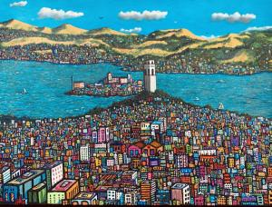 "Coit Tower | 30"" x 40"" 