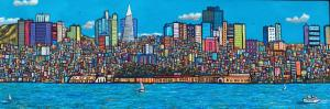 "San Francisco Summer | 24"" x 48"" 