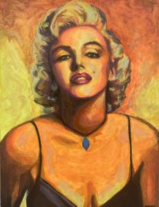 "Marilyn | 40"" x 30"" 
