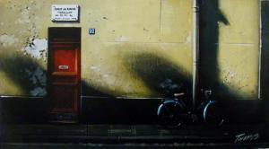 "Door No 52 | 7"" x 13"" | Thomas Pradzynski"