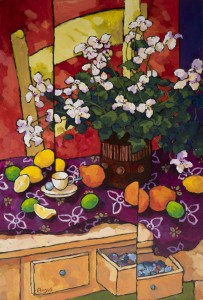 "Commission of Harmony - 46"" x 30"" - Angus Wilson"